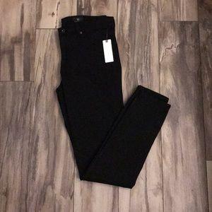 Anthropologie black skinny jeans